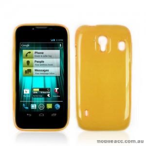 TPU Gel Case for Telstra EasyTouch 4G T82 - Orange
