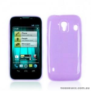TPU Gel Case for Telstra EasyTouch 4G T82 - Purple
