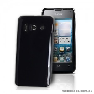 TPU Gel Case for Telstra Huawei Ascend Y300 - Black
