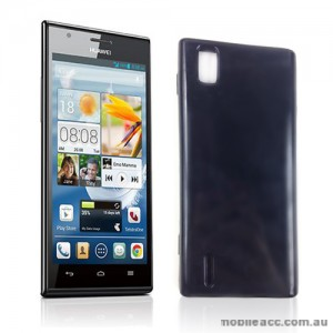 TPG Gel Case Cover for Huawei Ascend P2 - Black