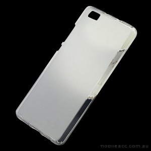 TPU Gel Case Cover for Huawei Ascend P8 White