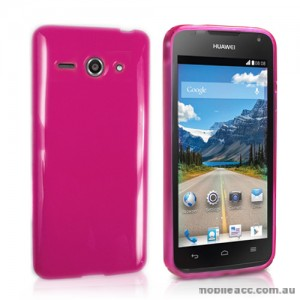 TPU Gel Case Cover for Huawei Ascend Y530 - Hot Pink