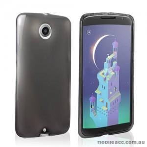 TPU Gel Case for Motorola Google Nexus 6 - Dark Grey