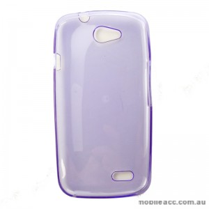 TPU Gel Case for Telstra 4GX Buzz Purple