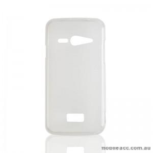 2X TPU Gel Case for Telstra Tough Max T84 Clear