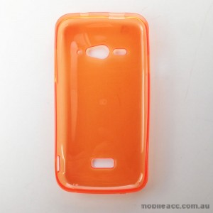 2X TPU Gel Case for Telstra ZTE Tough Max T84  Orange