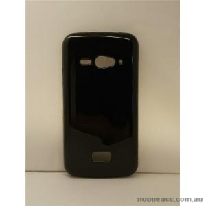 2X TPU Gel Case for Telstra ZTE Tough Max T84  Jet Black