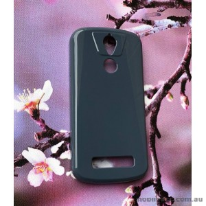 TPU Gel Case for Telstra ZTE Tough Max 2 T85 - Navy Blue