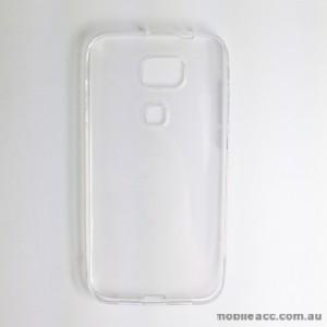 TPU Gel Case for Huawei Asend G8 Clear
