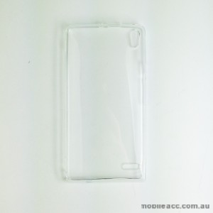 TPU Gel Case Cover for Huawei Ascend P6 Clear
