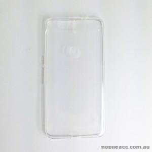 TPU Soft Gel Back Case for Huawei Nexus 6P Clear