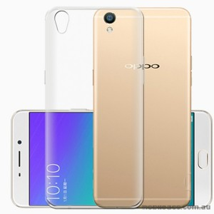 TPU Gel Case Cover For Oppo R9 Plus - Clear