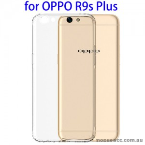 Soft TPU Back Case for Oppo R9s Plus - Clear