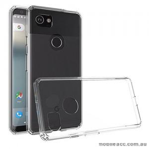 Soft TPU Gel Jelly Case For Telstra Google Pixel 2 XL - Clear
