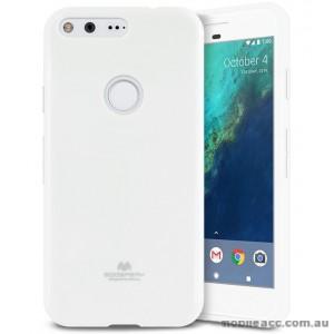 Korean Mercury Pearl iSkin TPU For Google Pixel XL - White
