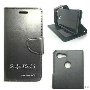 Wallet Case For Google Telstra Pixel 3  Black