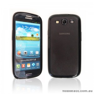 TPU   PC Case for Samsung Galaxy S3 i9300 - Black