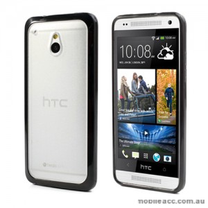 TPU   PC Case for HTC One mini M4 - Black