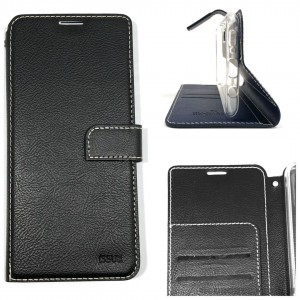 Genuine Molancano ISSUE Diary Stand Wallet Case For Samsung A31 6.4 inch  BLK
