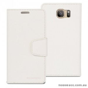 Korean Mercury Sonata Wallet Case for Samsung Galaxy S7 White