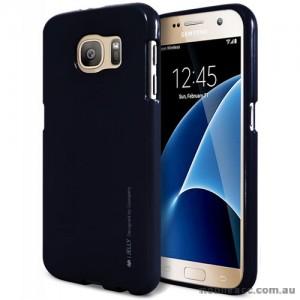 Mercury Goospery iJelly Gel Case For Samsung Galaxy S7 - Black