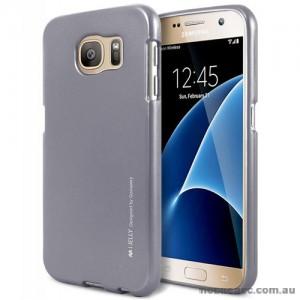 Mercury Goospery iJelly Gel Case For Samsung Galaxy S7 - Dark Grey