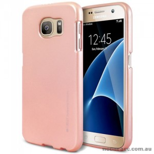 Mercury Goospery iJelly Gel Case For Samsung Galaxy S7 - Rose Gold