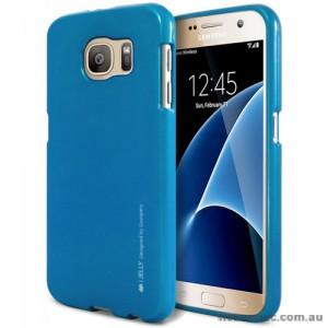 Mercury Goospery iJelly Gel Case For Samsung Galaxy S7 - Royal Blue