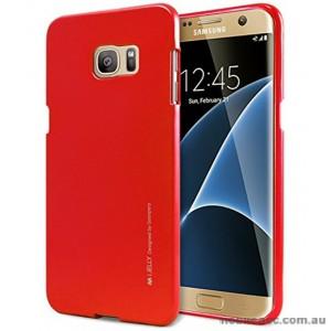Mercury Goospery iJelly Gel Case For Samsung Galaxy S7 - Red