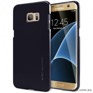 Mercury Goospery iJelly Gel Case For Samsung Galaxy S7 Edge - Black