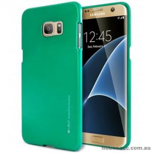 Mercury Goospery iJelly Gel Case For Samsung Galaxy S7 Edge - Green