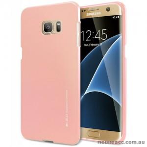Mercury Goospery iJelly Gel Case For Samsung Galaxy S7 Edge - Rose Gold