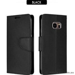 Korean Mercury Bravo Diary Wallet Case For Samsung Galaxy Note 7 - Black