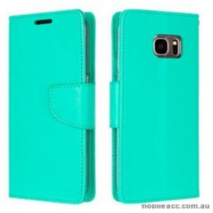 Korean Mercury Bravo Diary Wallet Case For Samsung Galaxy Note 7 - Mint