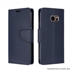 Korean Mercury Bravo Diary Wallet Case For Samsung Galaxy Note 7 - Navy