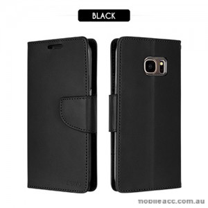 Mercury Goospery Bravo Diary Wallet Case For Samsung Galaxy S8 Plus - Black