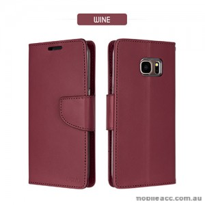 Mercury Goospery Bravo Diary Wallet Case For Samsung Galaxy S8 Wine