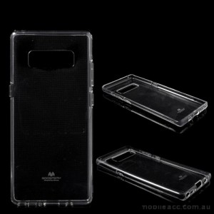 Mercury Pearl TPU Jelly Case for Samsung Galaxy Note 8 - Clear
