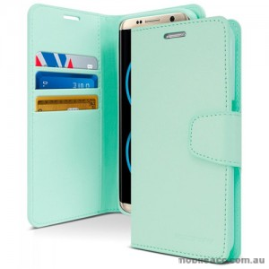 Mercury Goospery Sonata Diary Stand Wallet Case For Samsung Galaxy Note 8 - Mint
