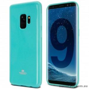Mercury Pearl TPU Jelly Case for Samsung Galaxy S9 - Aqua