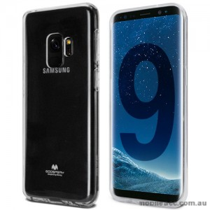 Mercury Pearl TPU Jelly Case for Samsung Galaxy S9 - Clear