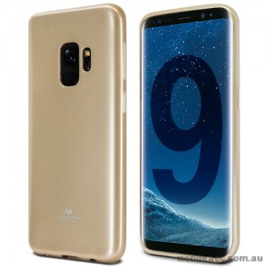 Mercury Pearl TPU Jelly Case for Samsung Galaxy S9 - Gold