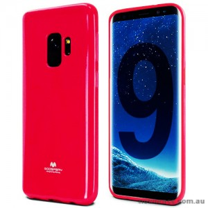 Mercury Pearl TPU Jelly Case for Samsung Galaxy S9 - Coral
