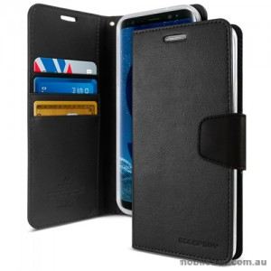 Mercury Goospery Sonata Diary Stand Wallet Case For Samsung Galaxy S9 - Black