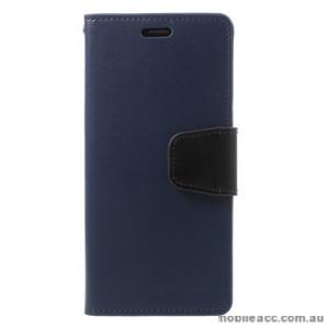Mercury Goospery Sonata Diary Stand Wallet Case For Samsung Galaxy S9 - Navy