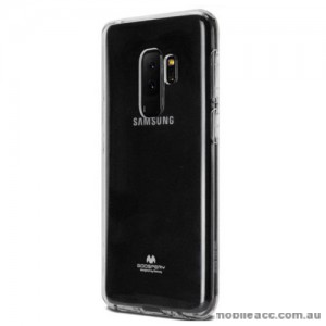 Mercury Pearl TPU Jelly Case for Samsung Galaxy S9 Plus - Clear