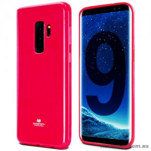 Mercury Pearl TPU Jelly Case for Samsung Galaxy S9 Plus - Hot Pink