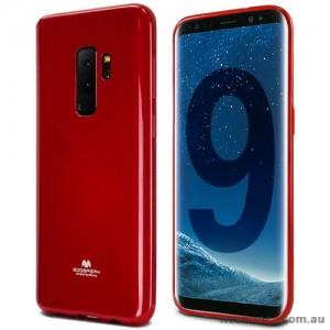 Mercury Pearl TPU Jelly Case for Samsung Galaxy S9 Plus - Red