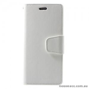 Mercury Goospery Sonata Diary Stand Wallet Case For Samsung Galaxy S9 Plus - White