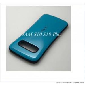 Iface mall  Anti-Shock Case  For Samsung  Galaxy  S10  6.1'' Sea Blue
